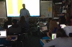 Teacher Spotlight: Andy McIntyre, Valley Jr. High School
