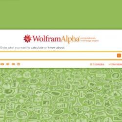 Featured Resource: WolframAlpha