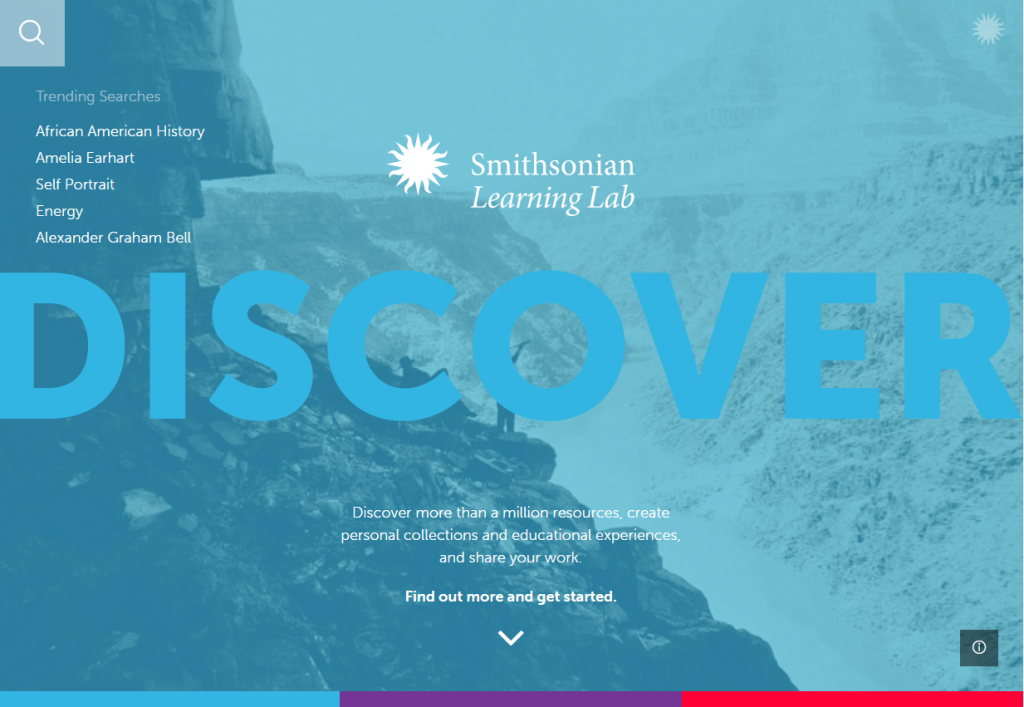 Smithsonian Learning Lab - Discover Screenshot