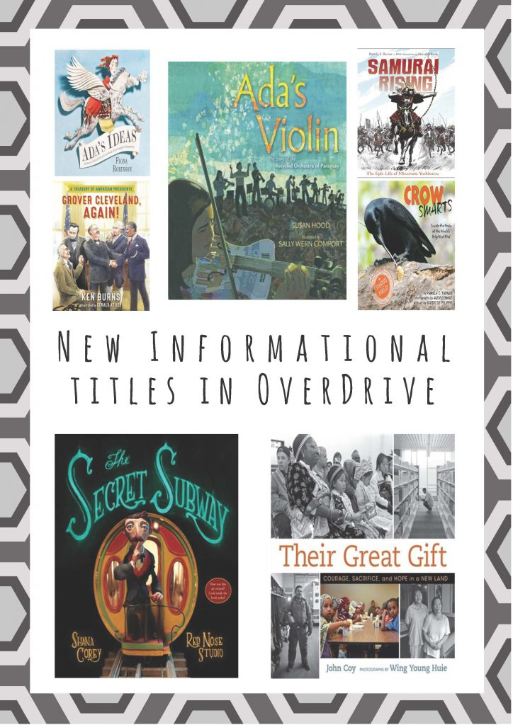 Poster - New Children's Nonfiction Titles in OverDrive Fall 2016