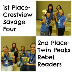 Granite District Battle of the Books 2016-2017 Competition Winners