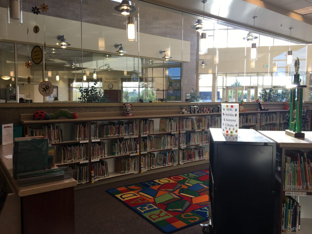 Diamond Ridge Elementary Media Center