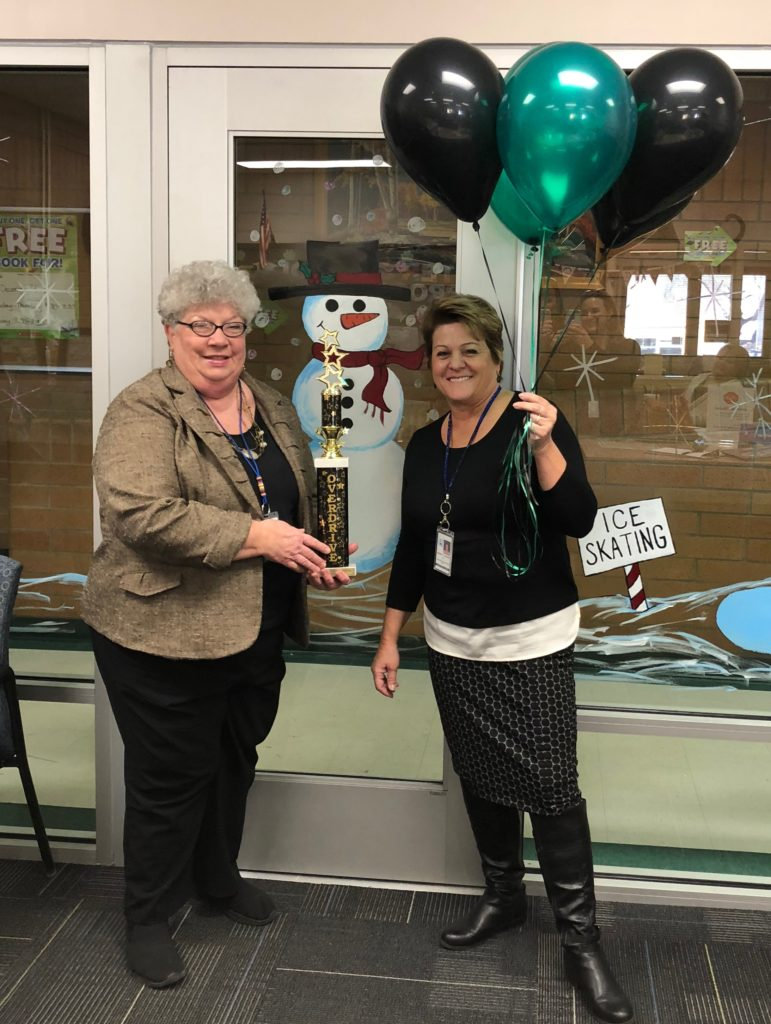 Pleasant Green Elementary Most Improved November 2017
