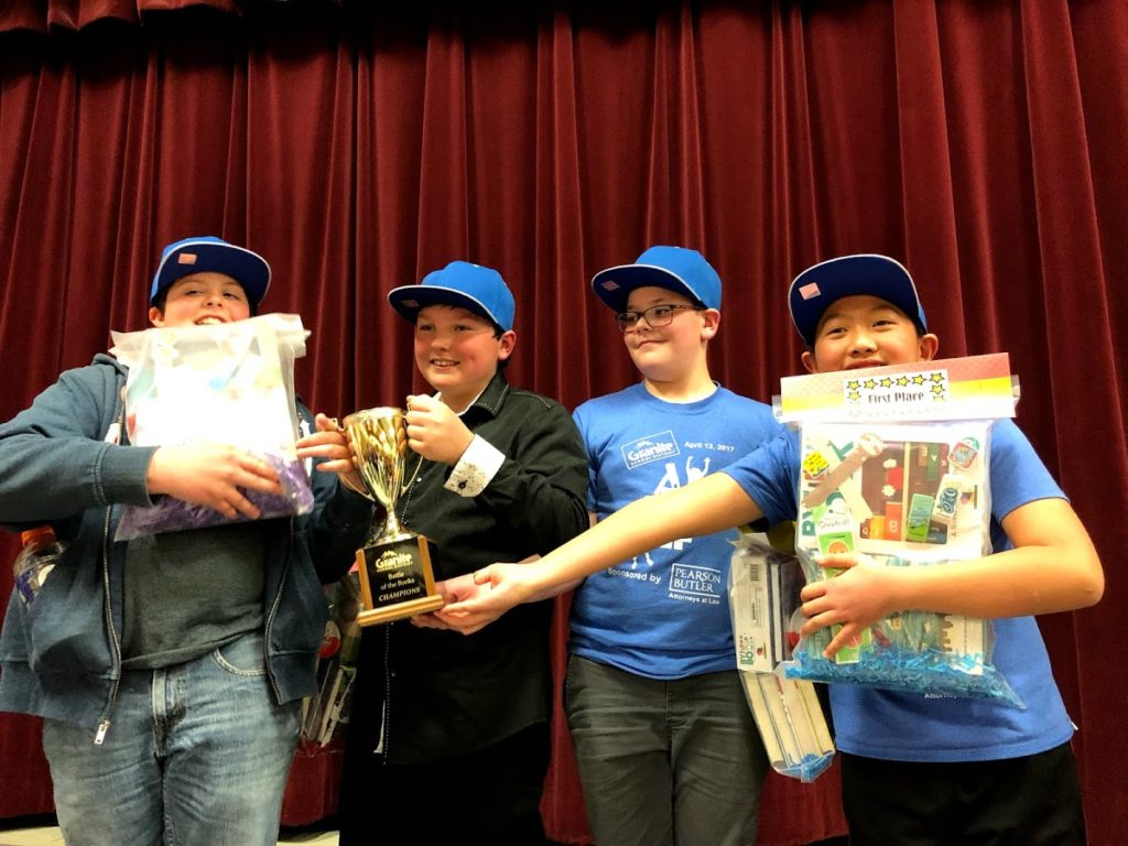 1st Place Winners: Golden Dragons, Truman Elementary
