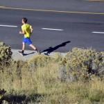 Photo of Churchill Jr High student running