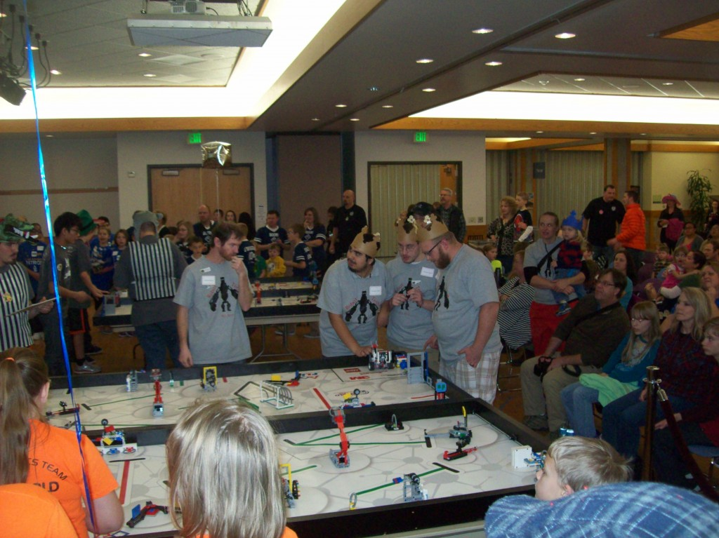 ... school year – the regional FIRST Lego League competition at Salt
