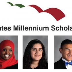 Congratulations to our Gates Millennium Scholarship recipients