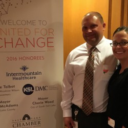 Woodrow Wilson principal receives United Way 'Changemaker' award