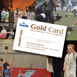 Gold Card offers senior citizens free or reduced admission to school events