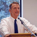 Dr. Martin Bates addressing the Utah School Superintendents Association