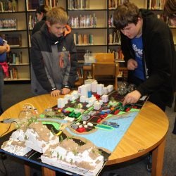 Junior high students tackle giant issues with mini prototype cities