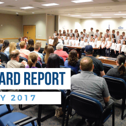 Board Report – May 2017