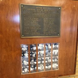 Decades-old WWII memorial plaque finds new home at Granite Park Jr High