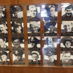 WWII bronze plaque at Granite Park Jr. High