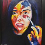 High school art on display
