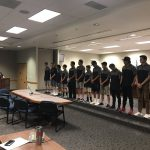 Cottonwood High baseball team being recognized at board meeting