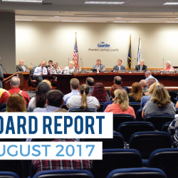 Board Report – August 2017
