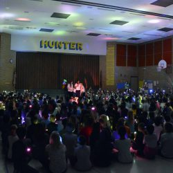 Hunter Elementary creates their own aurora borealis for classmate battling cancer